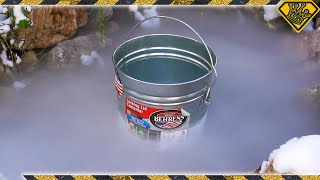 Download What Does Dry Ice Do In Frozen Pond Water? Video