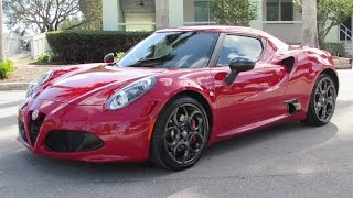 Download 2015 Alfa Romeo 4C Launch Edition Start Up, Exhaust, and In Depth Review Video