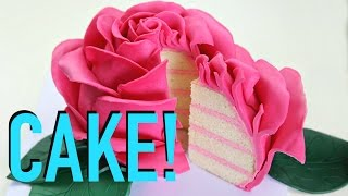 Download Beautiful Rose Cake - CAKE STYLE Video