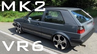 Download VW Golf MK2 VR6 - Sound Acceleration Onboard Video