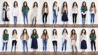Download 10 Pieces = 20 Looks | 2016 Fall to Winter Capsule Wardrobe Minimalist | Miss Louie Video