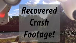 Download Recovered Footage from Crashed Drone | DJI Phantom 3 Standard Video