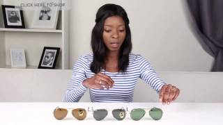 Download Ray Ban RB3025JM Aviator Full Color 2015 Summer Collection Review Video