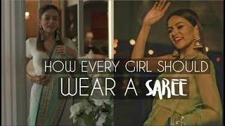 Download How EVERY Girl Should Wear A SAREE! | Komal Pandey Video