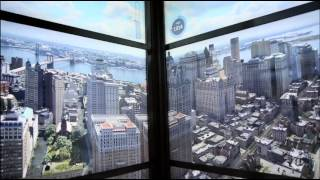 Download New York City age 500 years time lapse video Video