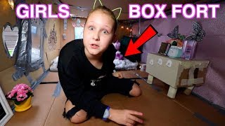 Download GIRLS ROOM BOX FORT CHALLENGE!! BOX ROOM TOUR!! Ruby Rube Video
