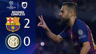 Download Barcelona 2-0 Inter Milan - GOLES Y RESUMEN COMPLETO - Grupo B UEFA Champions League Video