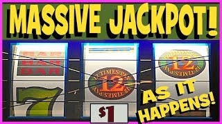 Download ★ JACKPOT, AS IT HAPPENS! ★ HANDPAY!! ★ '12 TIMES PAY' Slot! ★ Brent Slots ★ Video