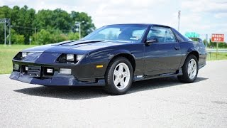 Download Davis AutoSports 1992 Camaro Z28 with 4K ORIGINAL MILES...Collector Quality Video