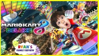 Download Ryan and Daddy Game Night! Let's Play Mario Kart 8 Deluxe with Ryan's Family Review Video