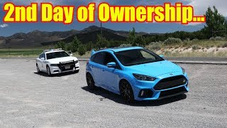 Download Police Not Happy - Top Speed Test in the Ford Focus RS Video