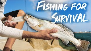 Download SURVIVAL FISHING one week eating ONLY the fish I catch Video