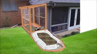 Download Winter Greenhouse Heating with HOT COMPOST Video