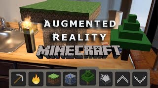 Download Apple ArKit Augmented Reality MINECRAFT Video