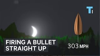 Download Firing a bullet straight up Video