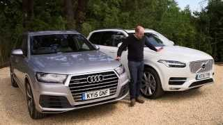 Download Audi Q7 vs Volvo XC90 review | TELEGRAPH CARS Video
