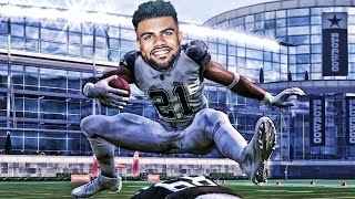 Download CAN ZEKE ELLIOTT HURDLE THE TALLEST PLAYER IN NFL HISTORY? MADDEN 17 CHALLENGE Video