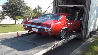 Download MY 1970 CHEVROLET CHEVELLE SS 396 ARRIVAL 12-22-14. Video