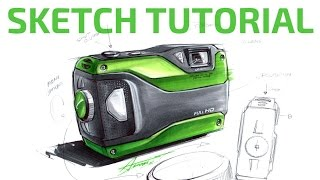 Download #2 SKETCH TUTORIAL by Adonis Alcici - Product Design Video