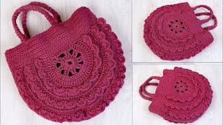 Download Amazing Woolen Handbag Making at Home    DIY Shopping Bag Making Using Woolen    Handmade Craft Idea Video