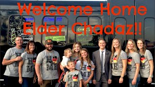 Download Welcome Home Elder Chadaz!! Video