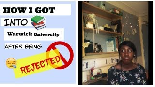 Download HOW I GOT INTO THE UNIVERSITY OF WARWICK AFTER BEING REJECTED!   Testimony + Results Day Video