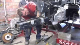 Download VW Touareg. Body repair. Ремонт кузова. Video