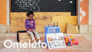 Download A homeless 7-year-old who lives on the beach shows us exactly what courage looks like. Video