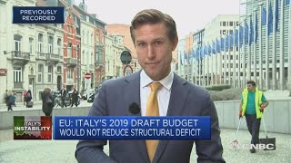 Download Italy's Tria: We need to give deeper explanations of our policy | Squawk Box Europe Video