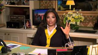 Download Oprah Winfrey Shocks Ellen! Video