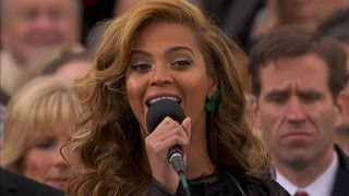 Download Beyonce National Anthem at Presidential Inauguration Ceremony 2013 | ABC News Video