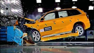 Download Volvo XC90 Frontal Offset Crash Test at 80 Km/h (50 Mph) Video