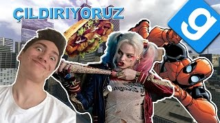 Download Gmod | Suicide Squad, Deadpool, Kebab modu (Eğlenceli Anlar) Video