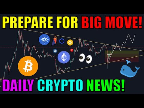 HUGE MOVE COMING For Bitcoin! Chainlink Ethereum Cardano News & More [Cryptocurrency News Online]