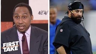 Download Stephen A. Smith blames Matt Patricia for Lions poor play in Week 1 | First Take | ESPN Video