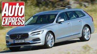 Download New Volvo V90 review: has the king of estates returned? Video