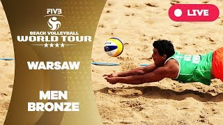 Download Warsaw 4-Star - 2018 FIVB Beach Volleyball World Tour - Men Bronze Medal Match Video