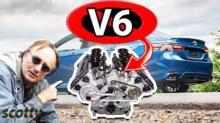 Download Why Not to Buy a V6 Car (Inline 4 Cylinder vs V6 Engine) Video