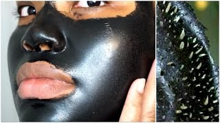 Download FIRST TIME USING A BLACK PEEL OFF MASK | SHILLS Video