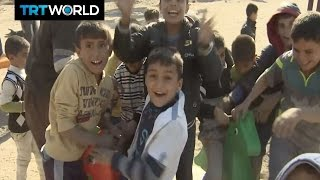Download The Fight For Mosul: Charity donates playground to recaptured town Video