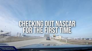 Download Checking out my first NASCAR race w/ Dale Jr and Chase Elliott Video