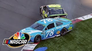 Download 2018 Charlotte Roval: Jimmie Johnson out of playoffs after final lap crash I NASCAR | NBC Sports Video