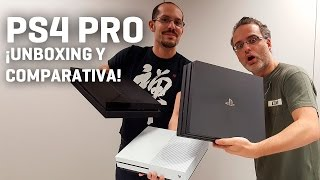 Download PS4 Pro - Unboxing y comparativa con PS4 y Xbox One S Video