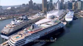 Download Alaska Cruise & Canada's Rocky Mountaineer Train - Jetline Cruise Video