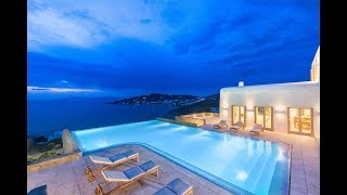 Download Ultra Sophisticated Home with Breathtaking Sea Views in Mykonos, Greece Video