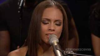 Download Alicia Keys - Empire State Of Mind (Part II) Broken Down LIVE @ AOL Sessions Video