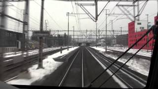 Download SBB Intercity cab ride from Bern to Zurich Video