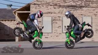 Download 2017 Kawasaki Z125 Pro First Ride Video