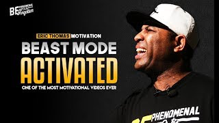 Download Eric Thomas - BEAST MODE ACTIVATED (Eric Thomas Motivation) Video