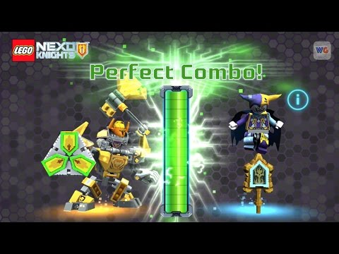 Perfect Combo Nexo Shields Battle Suit Axl vs Jestro | LEGO Nexo Knights